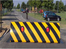 Anti - Terrorist Heavy Duty Security Full Automatic Road Blocker With LED Light