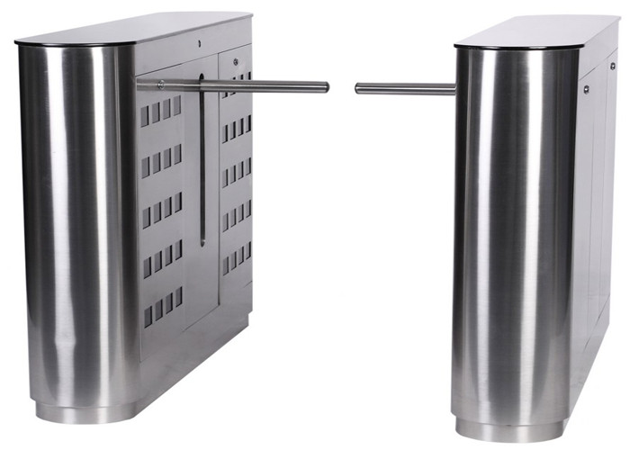 Mechanical / Infrared RFID Turnstile Door Subway / Supermarket Turnstile