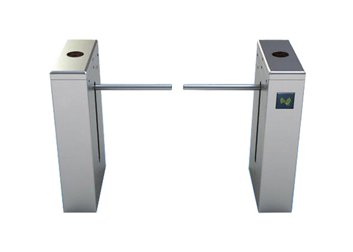1.2mm Thickness SS304 RFID Reader Drop Arm Turnstile