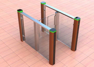 MCBF Full Height Pedestrian Barrier Gate Indoor Outdoor 600-900mm Channel Width